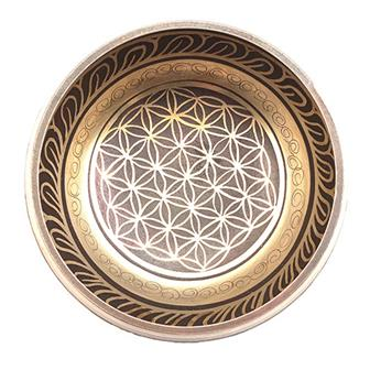 Flower of Life Singing Bowl Large