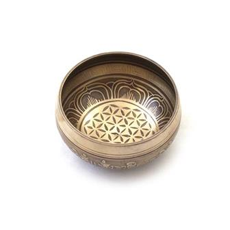 Seconds Flower of Life Singing Bowl M