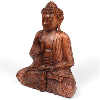 Large Handcarved Buddha B Stock