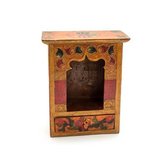 Tibetan Style Shrine Box - Small