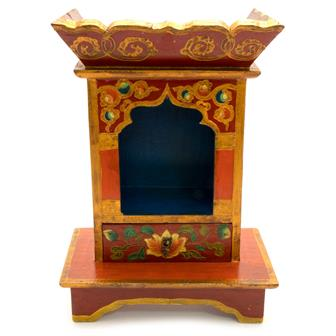 Tibetan Style Shrine Box - Large