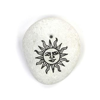 Sun Stone Incense Holder