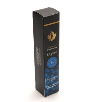 Throat Chakra Organic Dhoop Incense