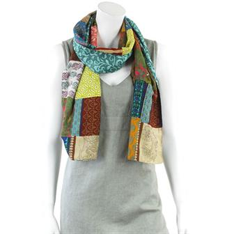 Patch India Scarf