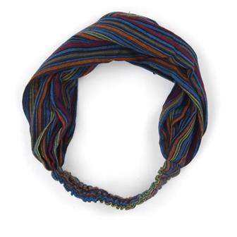 Stripy Cotton Headband