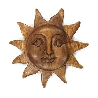 Sun Face Carving