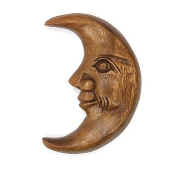 Moon Face Carving