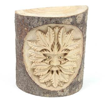 Green Man in Wood