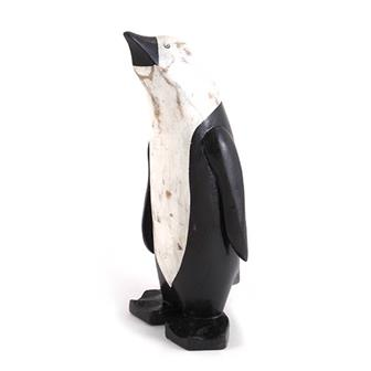 Painted Bamboo Root Penguin