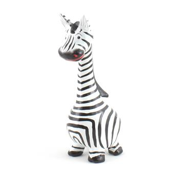 Cartoon Zebra Large