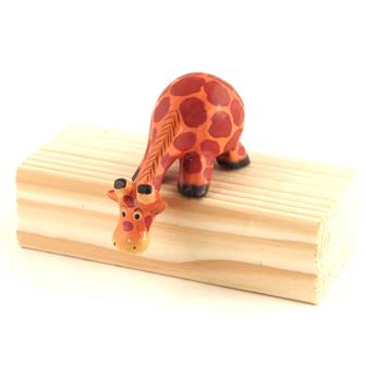 Cartoon Shelf Giraffe