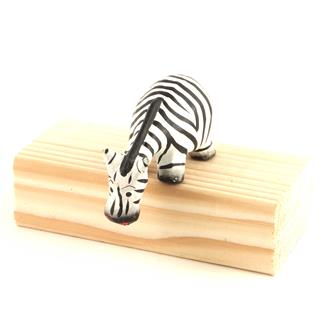 Cartoon Shelf Zebra