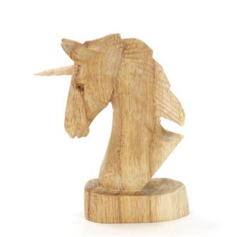Unicorn Woodcarving