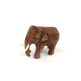 Mini Thai Elephant Carving