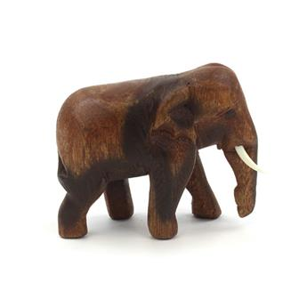 Small Thai Elephant Carving