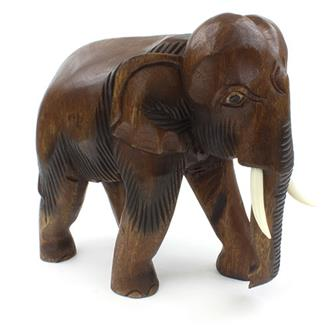 Extra Thai Elephant Carving