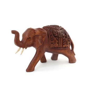 Ornate Carved Elephant