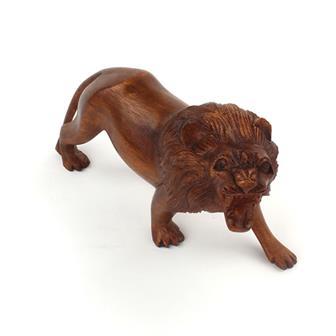 Wooden Carved Lion