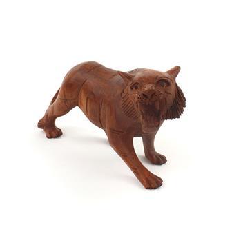 Wooden Carved Tiger