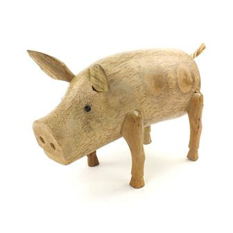 Bamboo Root Pig