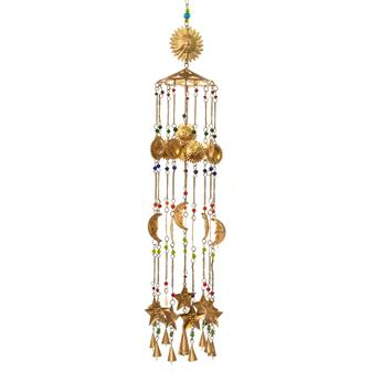 Sun and Moon Bell Chandelier