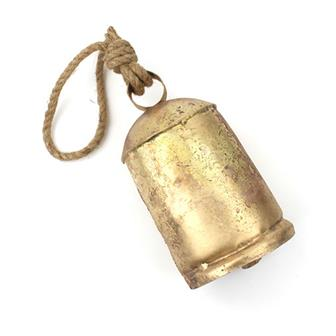 Large Rustic Bell on Rope