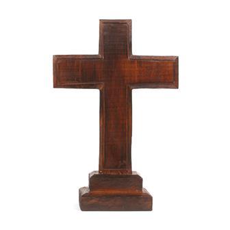 Simple Standing Wooden Cross