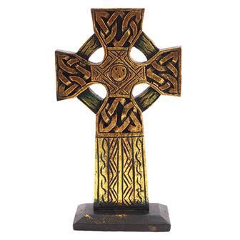 Golden Standing Cross