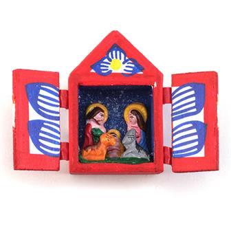Nativity Mini Retablo