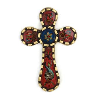 Peruvian Folk Art Cross