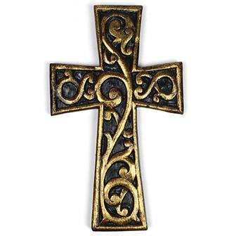 La Fleur Gold Cross