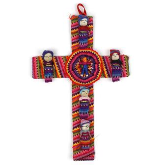 Worry People on Cross
