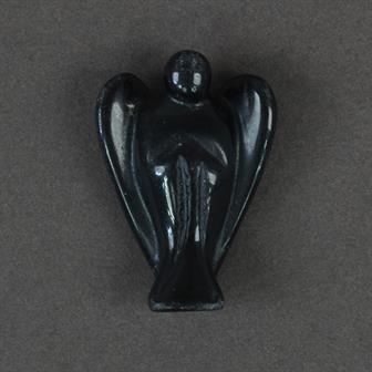 Pocket Angel Black Obsidian