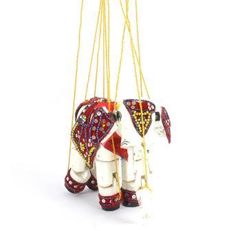 Burmese Elephant Puppet