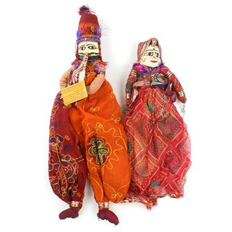 Traditional Rajasthani Puppets