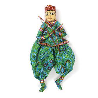Rama Rajasthani Puppet