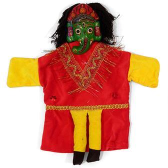 Ganesh Glove Puppet