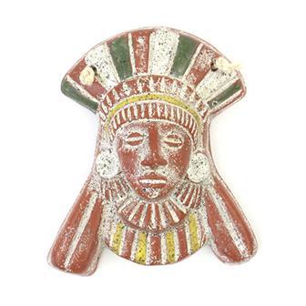Small Mayan Mask