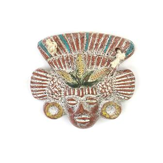Small Maize God Mask