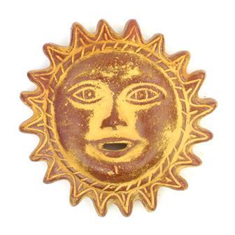 Large Ceramic Sun Face