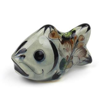Glazed Ceramic Fish Large