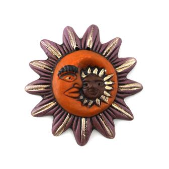 Small Sun And Moon Plaque