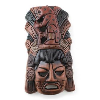 Ceramic Jaguar Mask