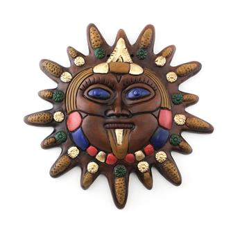Mexican Sun Maize Plaque