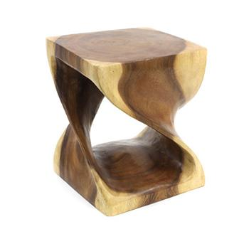 Short Twist Stool