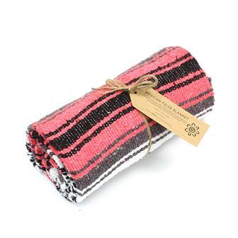 Mexican Falsa Blanket - Pink