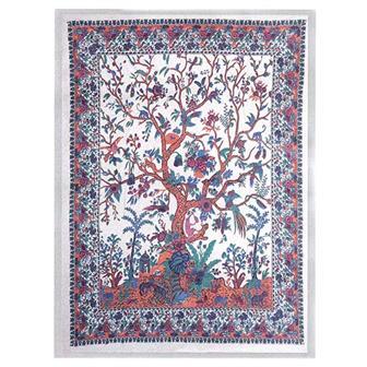 Jaipur Tree Single Bedspread