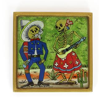 Serenade Folk Art Frame