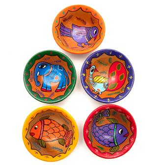 Mithila Terracotta Dishes Pack of Five