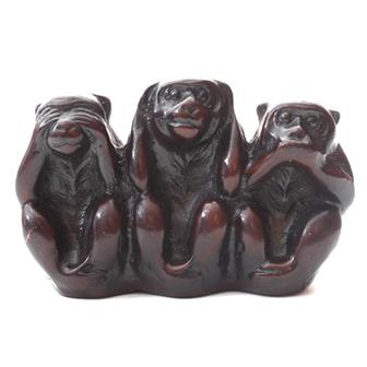 Resin 3 Wise Monkeys